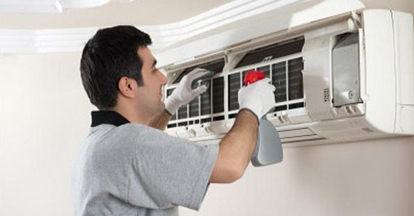 ¿Cómo limpiamos el aparato de aire acondicionado? 1