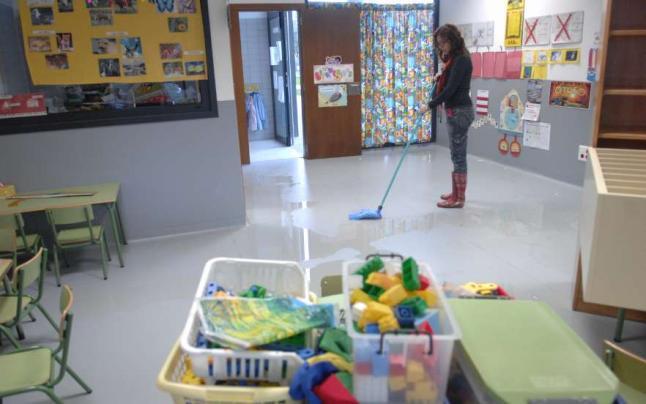 Limpieza de colegios 1