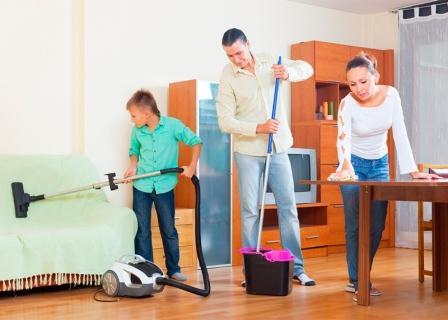 Limpieza del hogar para navidad gestliman servicios - Trabajo para limpiar casas ...