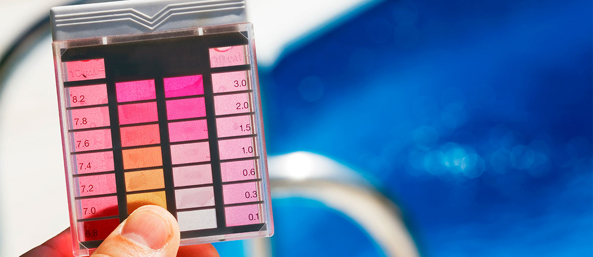 Efectos del pH desajustado en piscinas. 1
