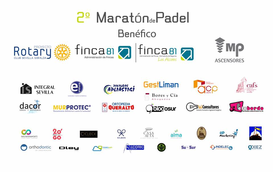 II Maratón de pádel benéfico Finca b1 2